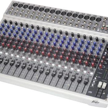 PV 20 USB- PEAVEY Table de mixage 20 pistes avec sortie USB pour enregistrement
