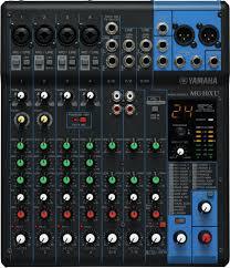 Yamaha MG10 XU Console de mixage analogique, professionnelle 10 canaux