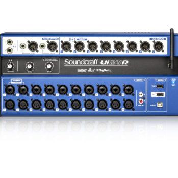 : Soundcraft Ui24R Mixeur numérique 24 canaux avec boitier de scène et DSP intégrés
