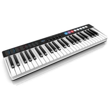 IK Multimedia iRig Keys I/O 49 Clavier maître USB avec interface audio intégrée, 49 touches