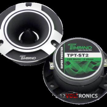 TPT-ST2 4″ Timpano Super Tweeter Car Audio | Pro Audio