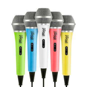 IK Multimedia iRig Voice Microphone à main, pour le chant, de qualité professionnelle, compatible avec iPhone, iPad, iPod touch, Mac et les appareils Android