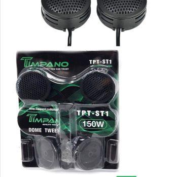 Timpano TPT-ST1 Lot de 4 tweeters Super Radio
