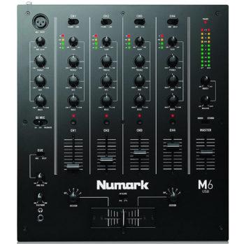 M6 USB – NUMARK Table de mixage DJ 4 canaux en USB, avec afficheurs LED, un égaliseur, et une interface audio USB