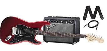 Pack Fender guitare électrique ampli+ accessoire