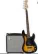 Pack Fender guitare BASS + ampli +accessoire