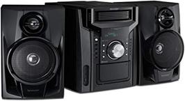 - Sharp CD-BH950 Sharp 5-Disc Mini, Système avec Cassette, USB et Bluetooth
