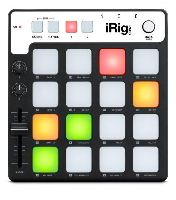 Contrôleur MIDI iRig Pads de IK Multimedia
